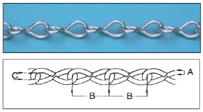 Stainless Steel Single Jack Chain