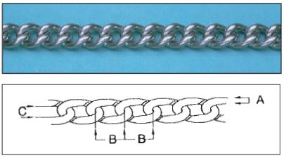 Stainless Steel Twist Chain