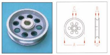 Stainless Steel Pulleys - Rope, Wire Rope, Swivel Pulleys